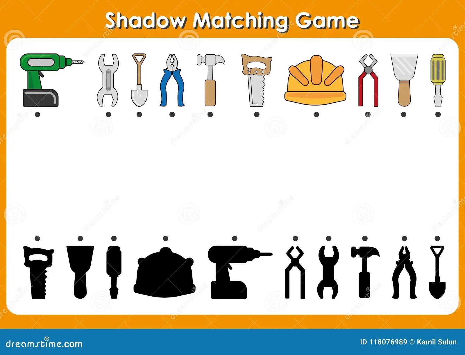 Preschool Worksheet Gallery Preschool Shadow Matching