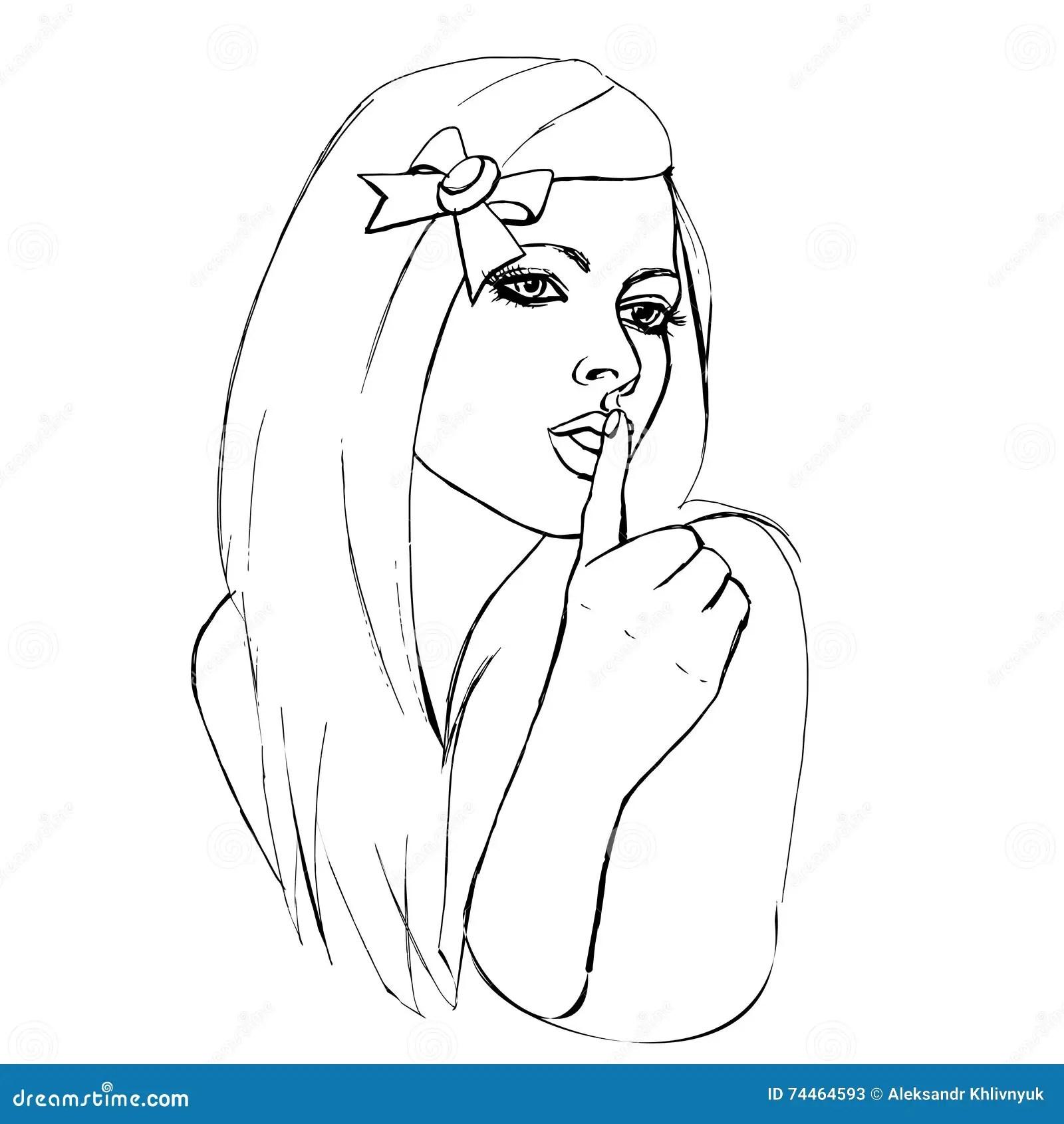 Shh Cartoons Illustrations Amp Vector Stock Images