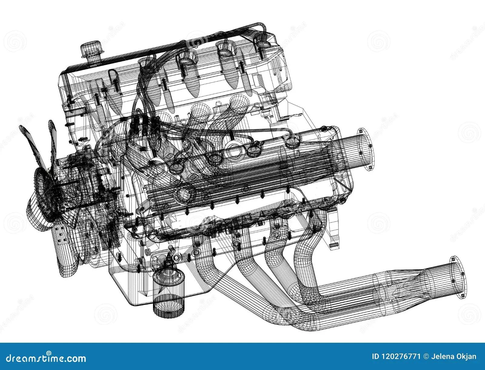 Blueprinting A Motor