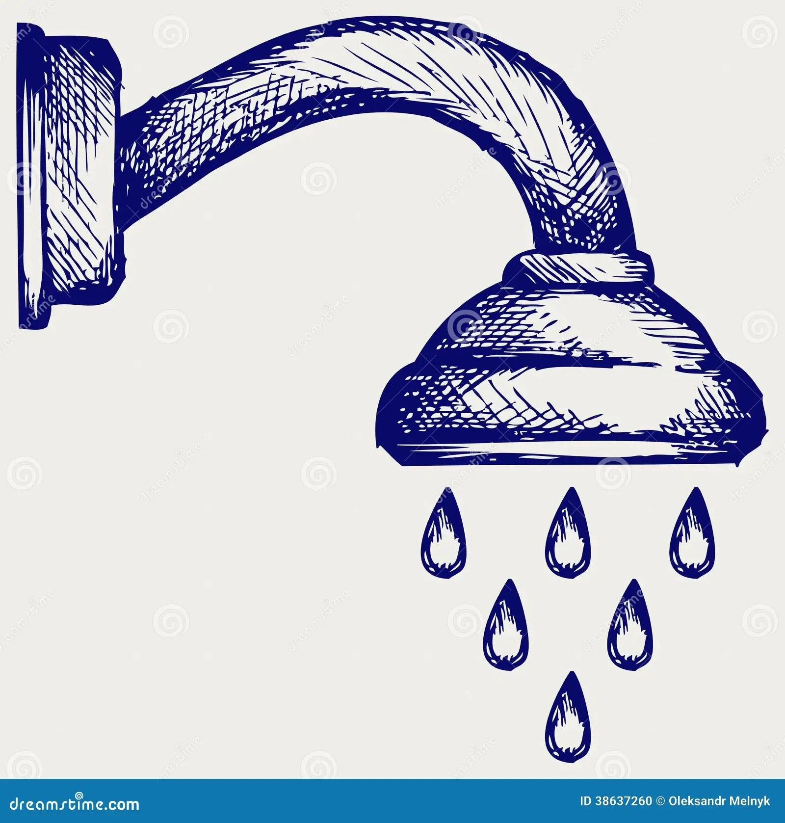 Shower Head Stock Photo Image 38637260