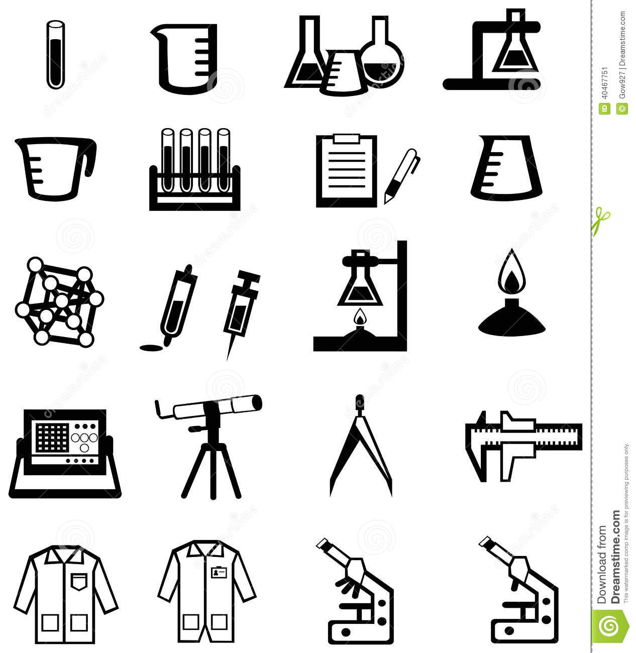 Silhouette Science Chemistry And Engineering Too Stock