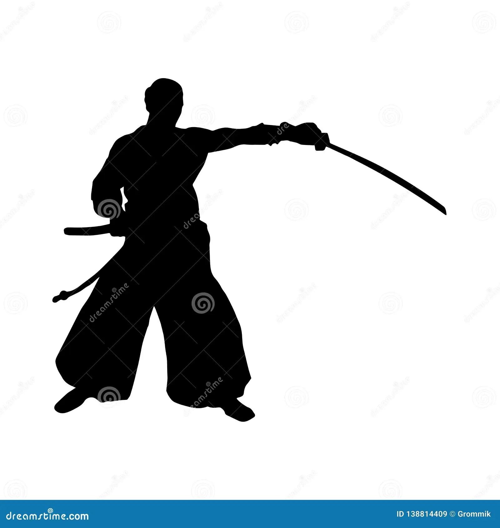 silhouette simple de decoupe d un