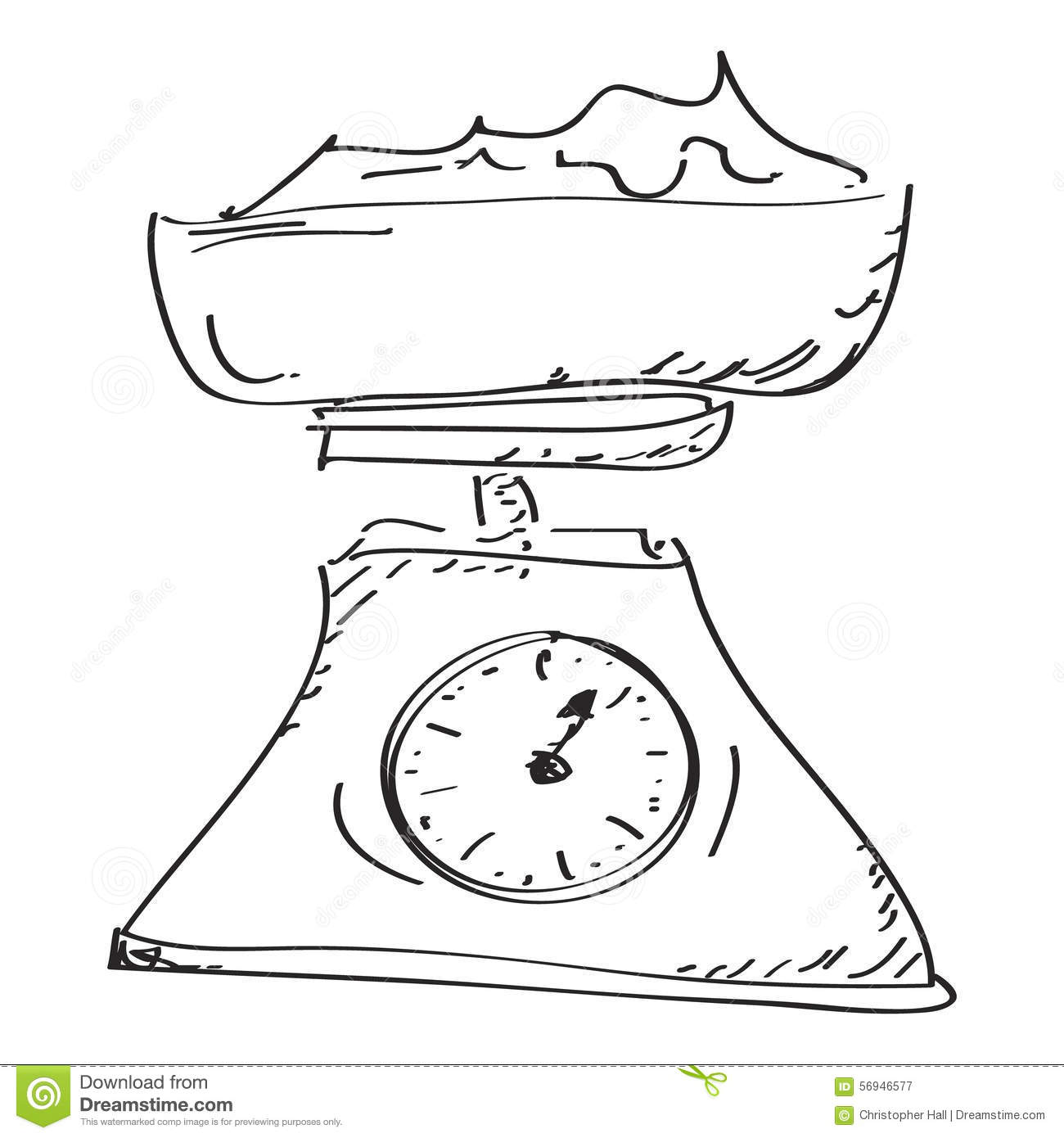 Kitchen Food Scales Weight