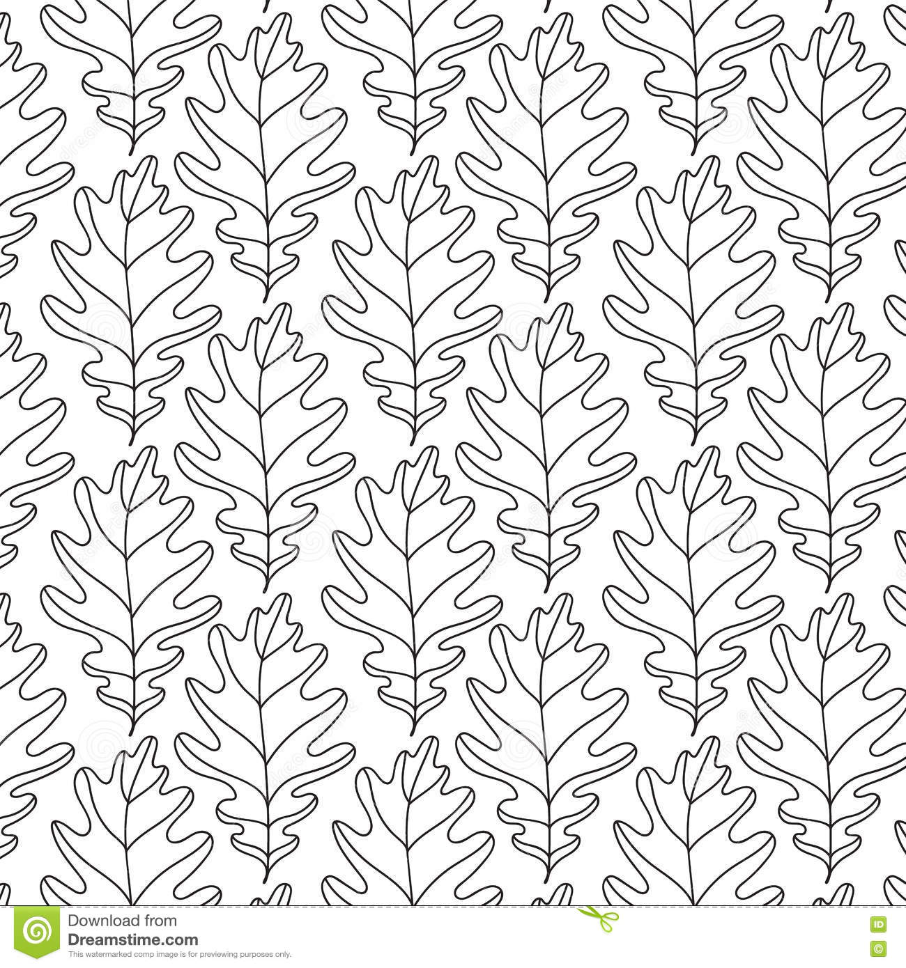 Vector Abstract Simple Organic Seamless Pattern Vector