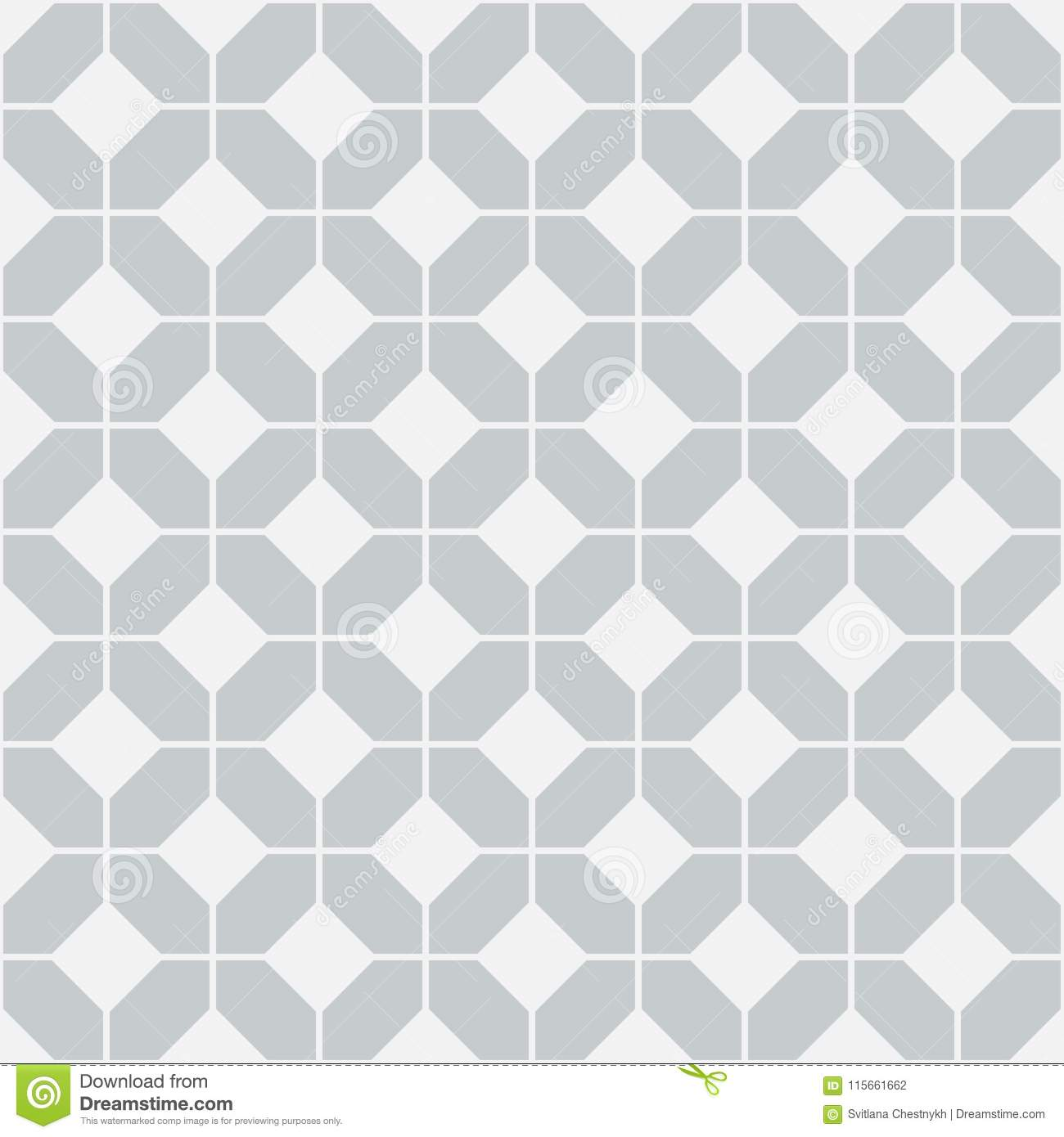 https www dreamstime com simple floor tile pattern abstract geometric seamless background portuguese tiles vector illustration ceramic image115661662