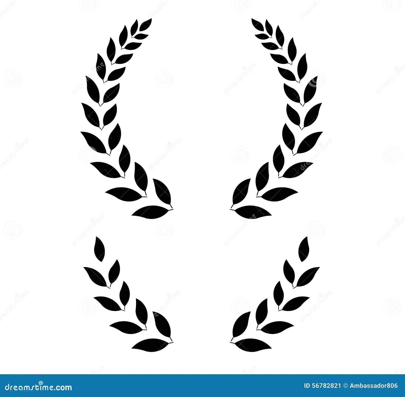 Simple Laurel Wreath