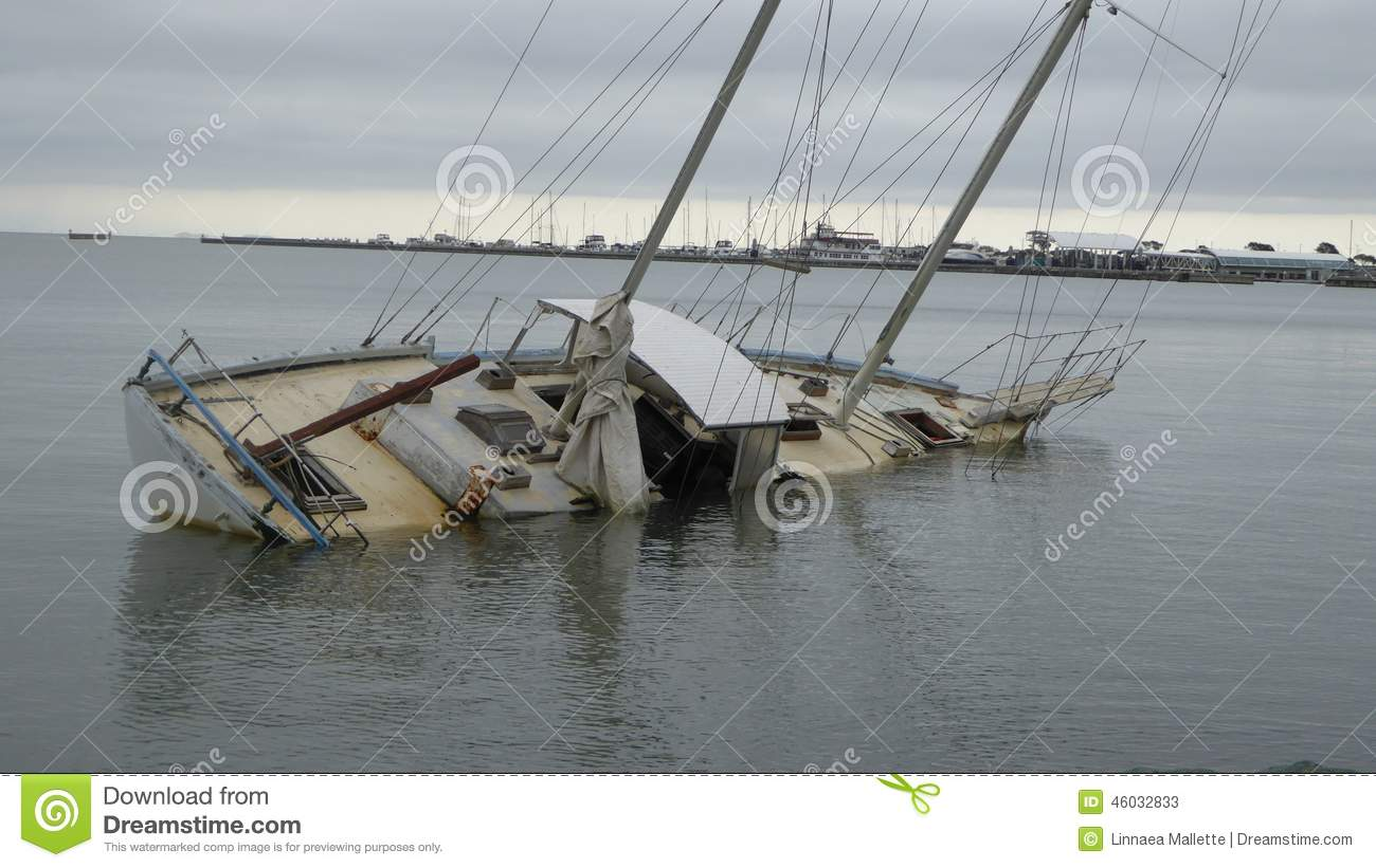 Sinking Ship Stock Image Image Of Sinking Sail Days