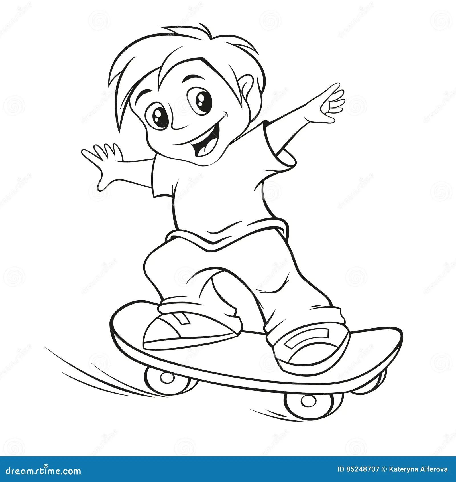 Skateboarding Stock Illustrations 9 256 Skateboarding