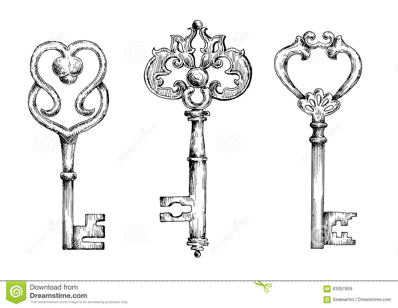antique skeleton key drawing wiring diagram database. Black Bedroom Furniture Sets. Home Design Ideas