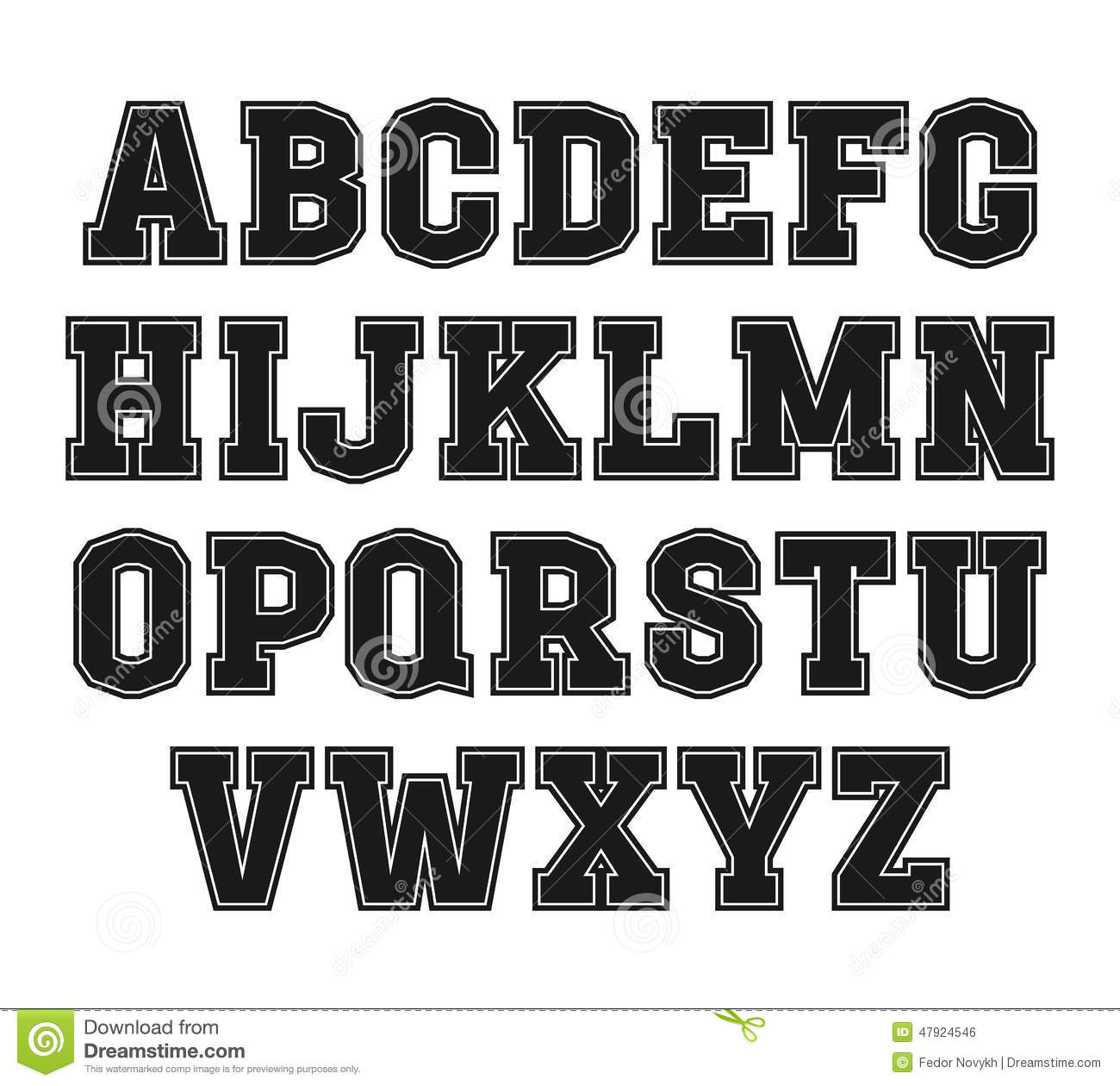 letter font styles letters fonts types of font styles letter