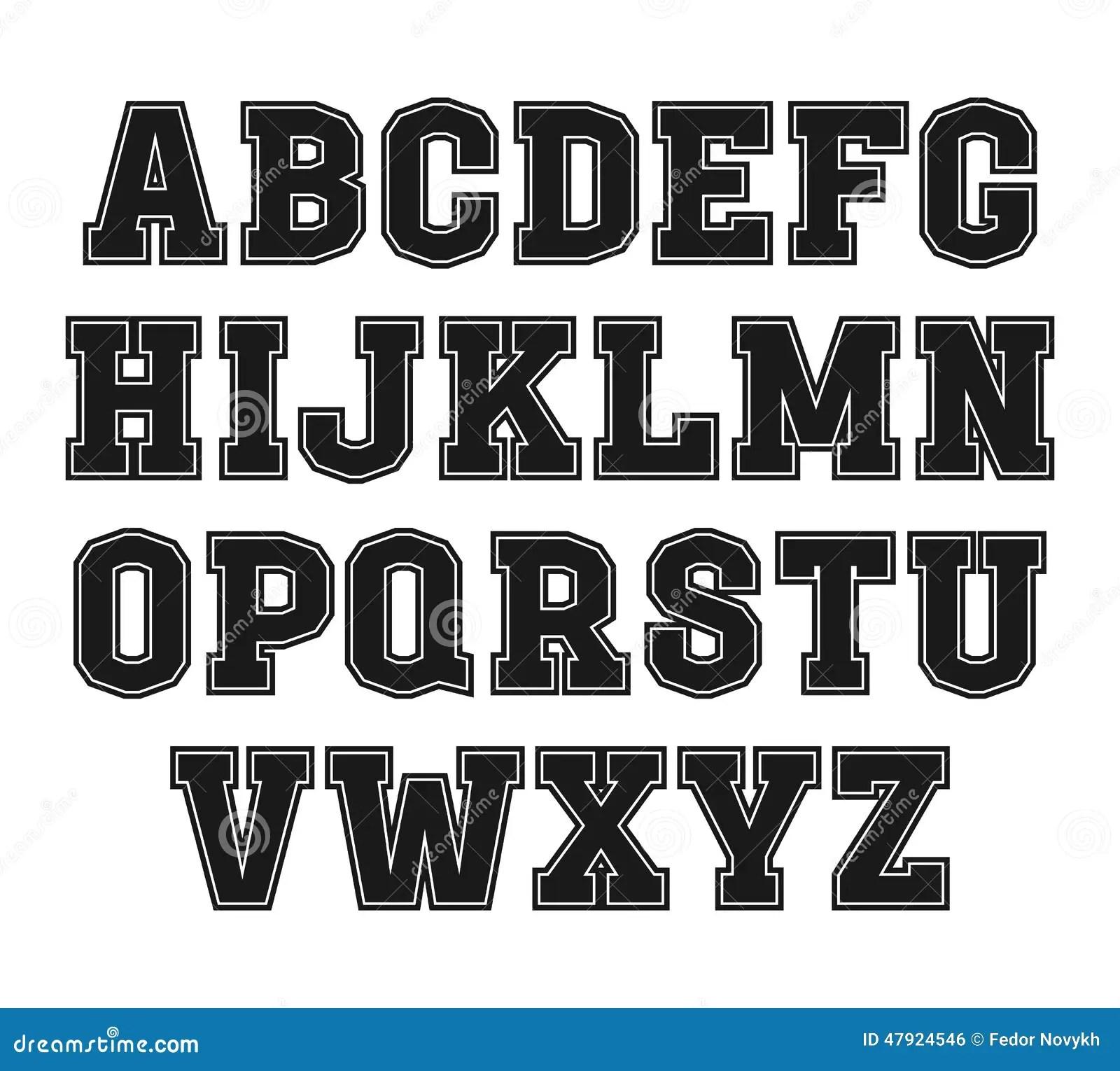 Block Letter Font Styles