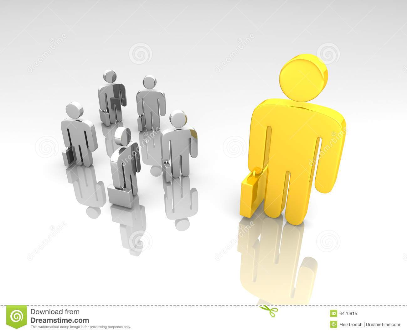 Small Vs Big Business Stock Illustration Illustration Of