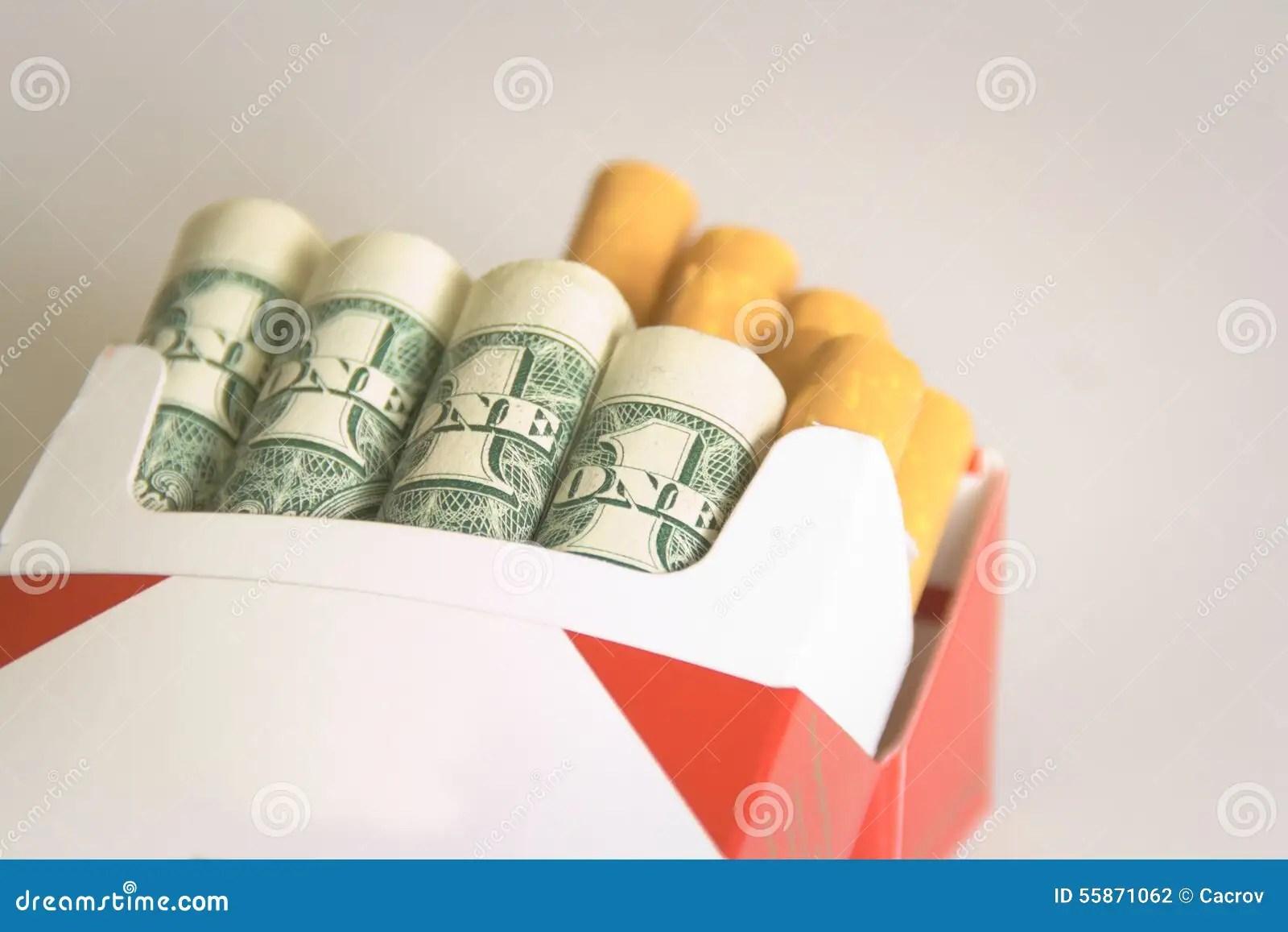 Smoking Costs Money Stock Photo Image Of Quit Bill