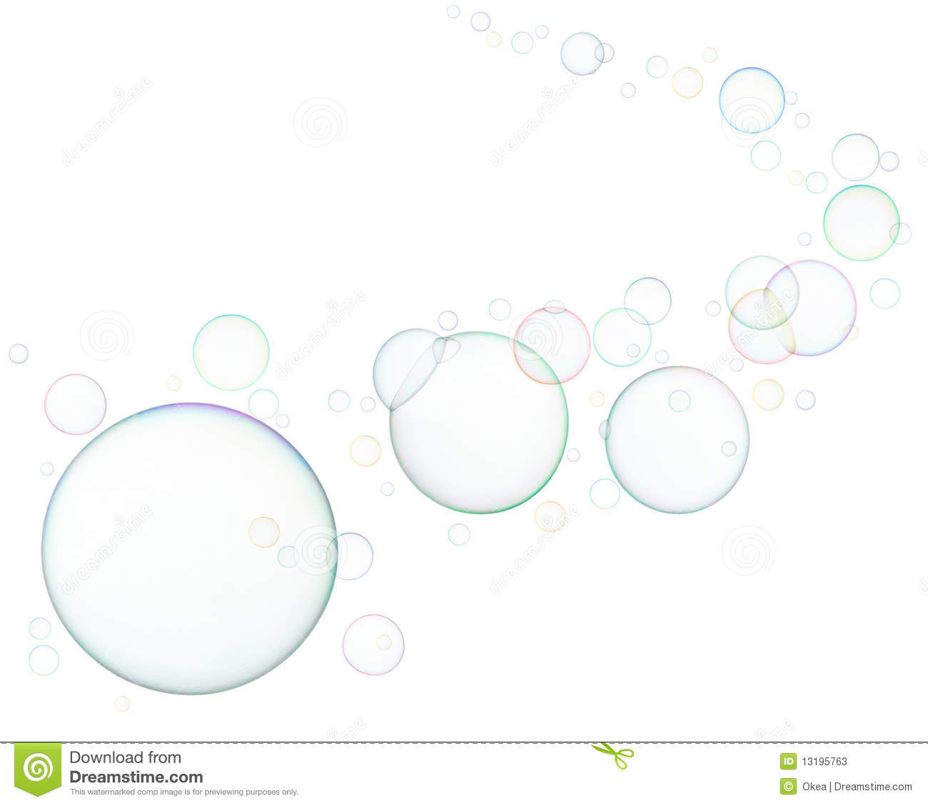 Soap Bubbles Stock Image Image Of Round Background