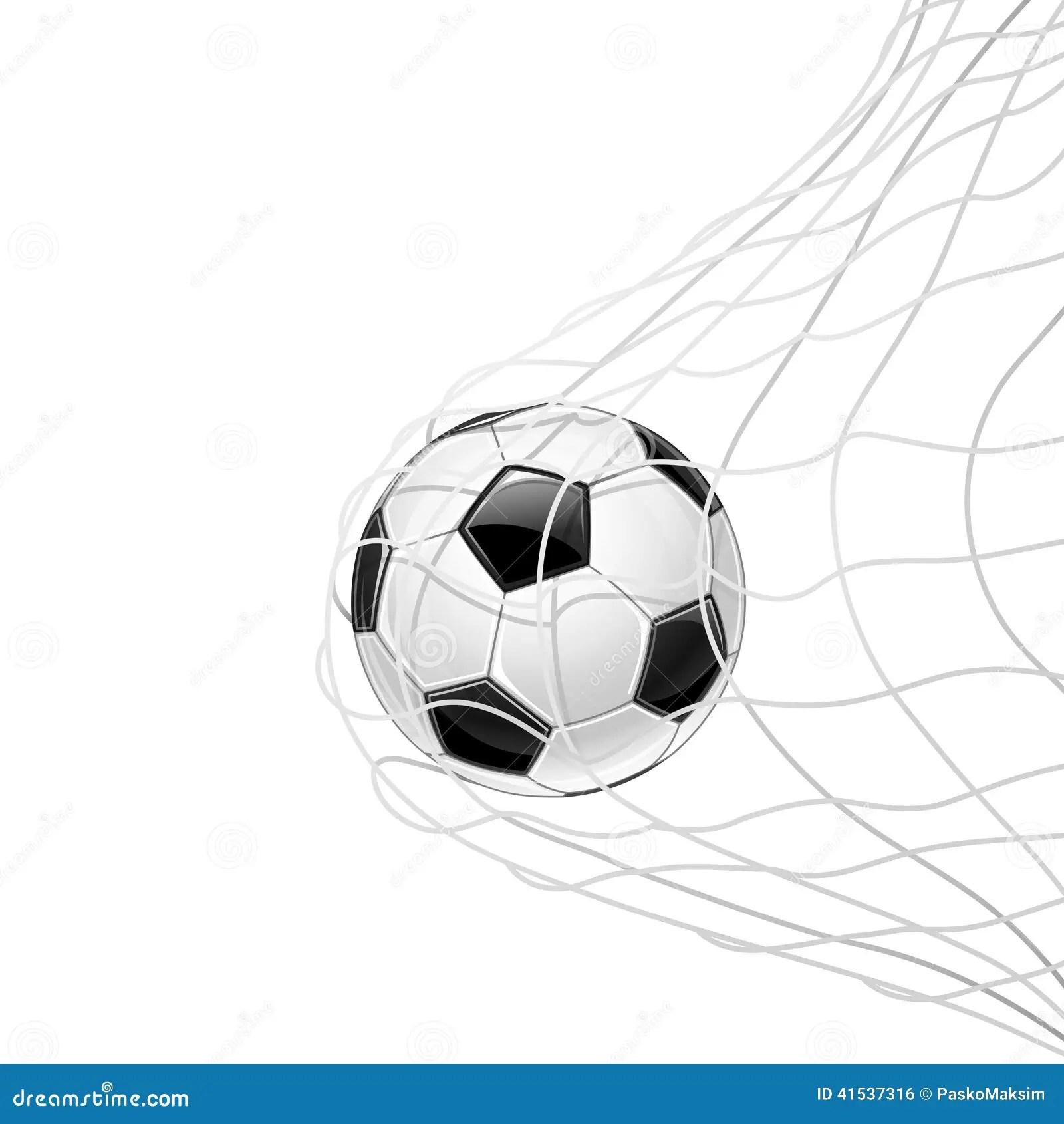 Soccer Ball Stock Vector Illustration Of Leisure
