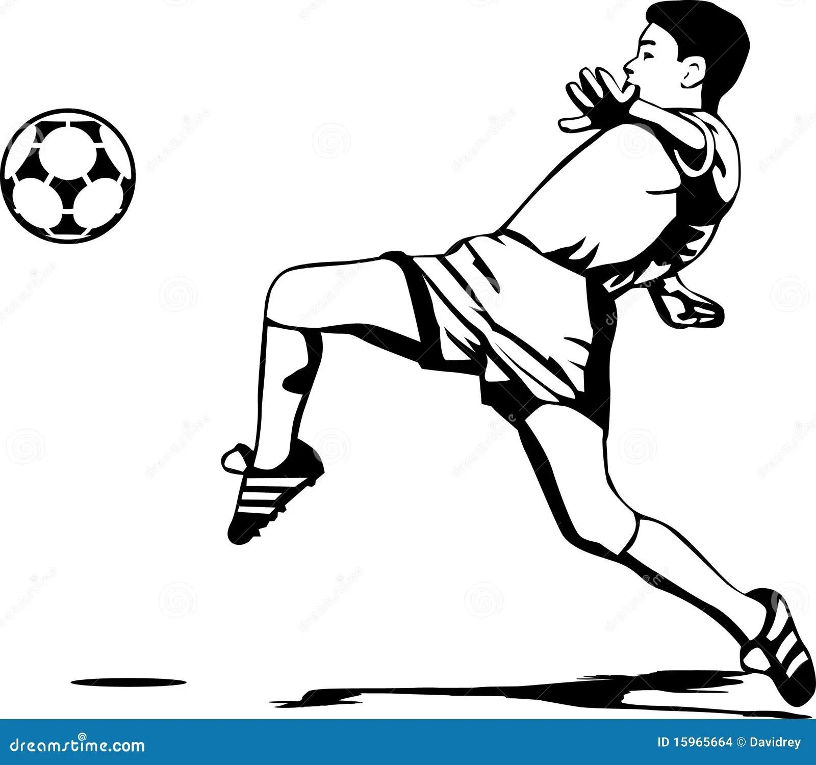 Soccer Player Stock Vector Illustration Of Clipart