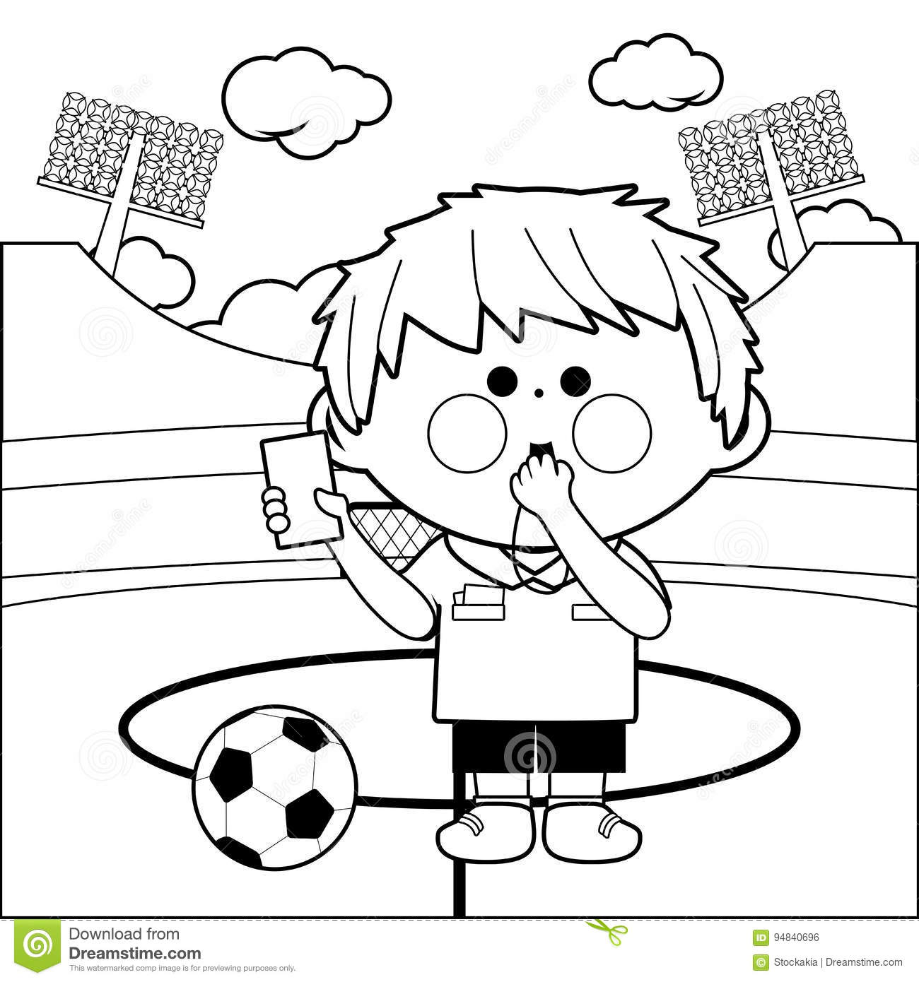 Referee Cartoons Illustrations Amp Vector Stock Images