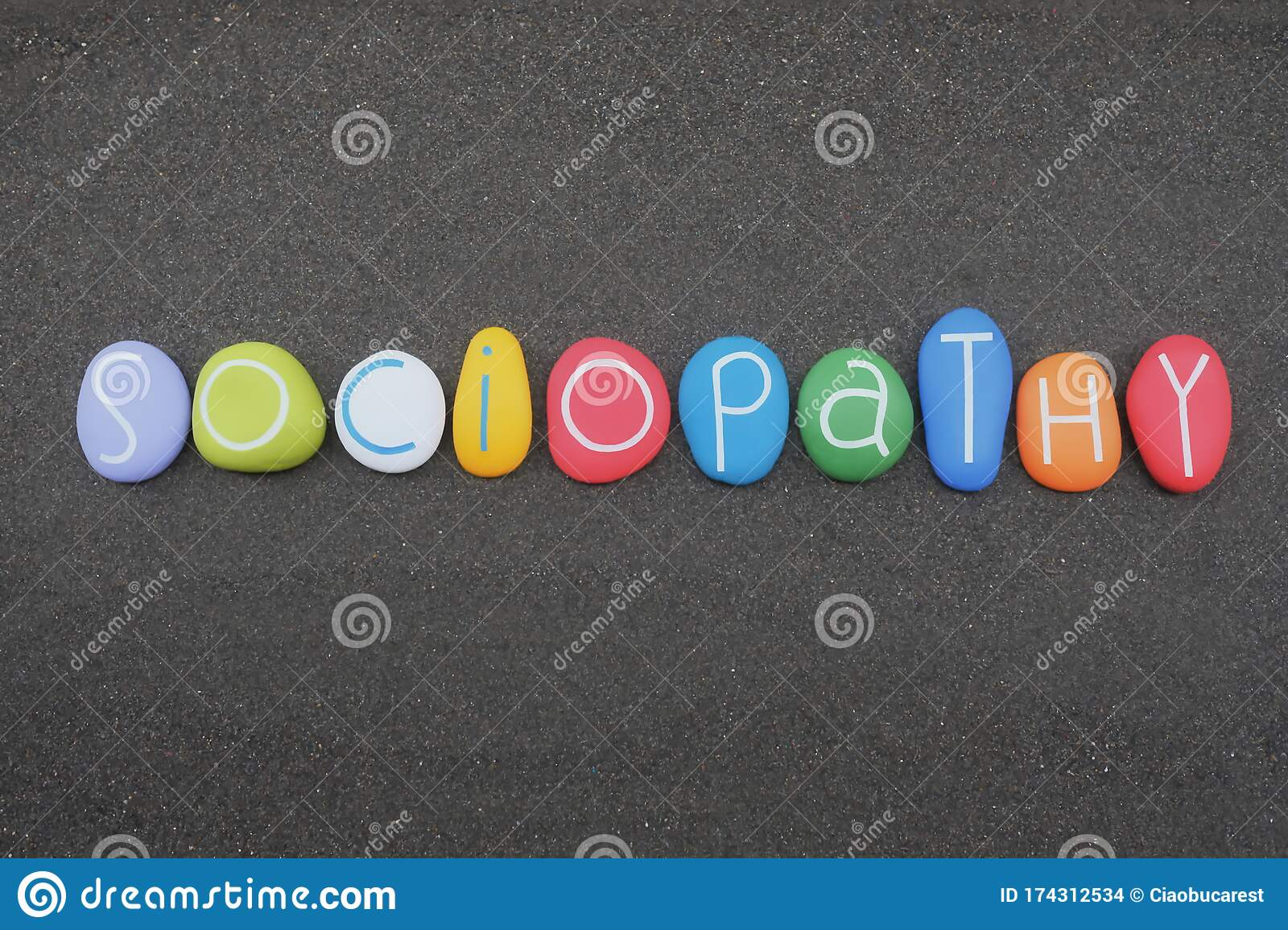 Sociopathy Antisocial Personality Disorder Word Composed