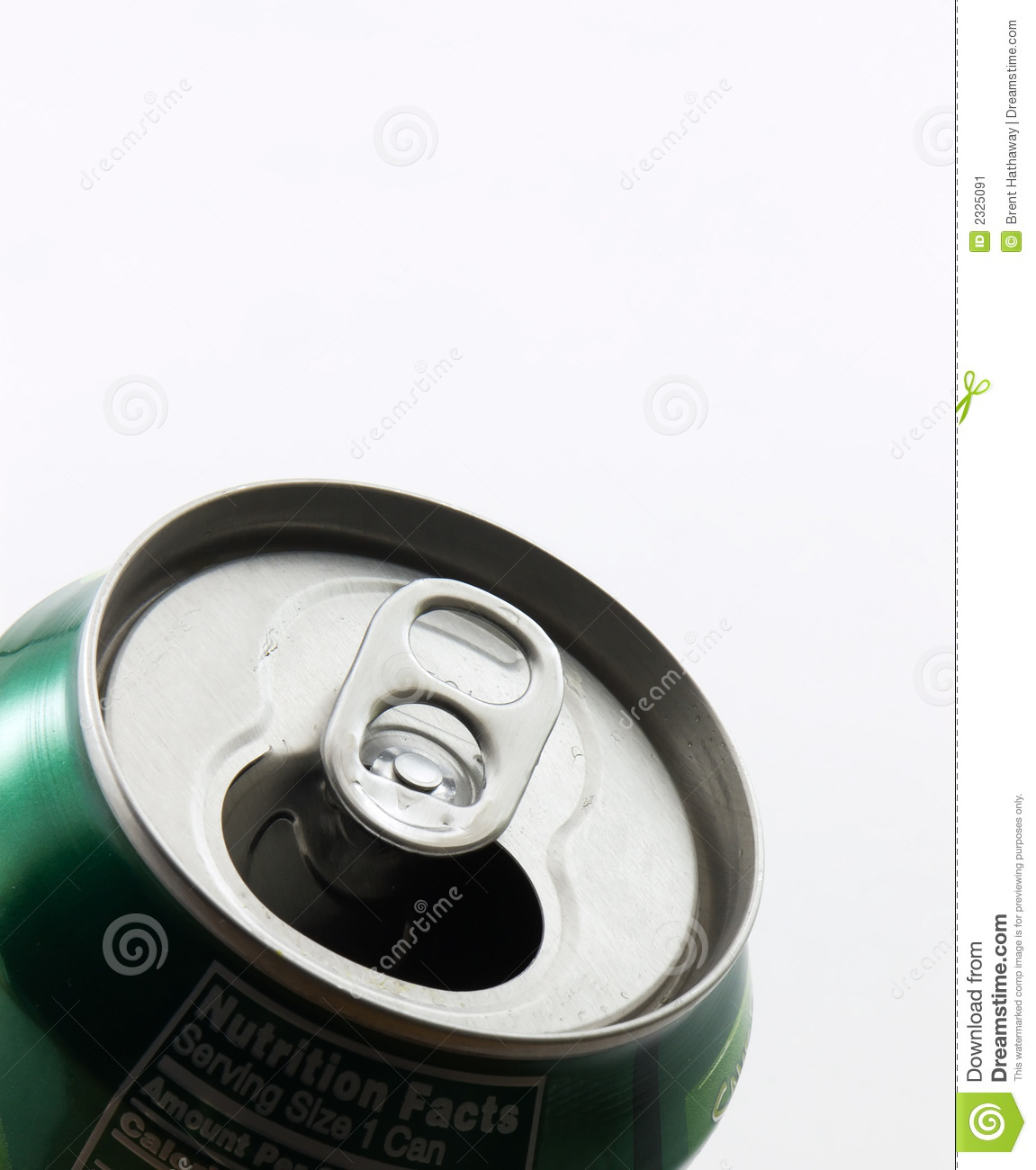 Soda Can Top Stock Image Image 2325091
