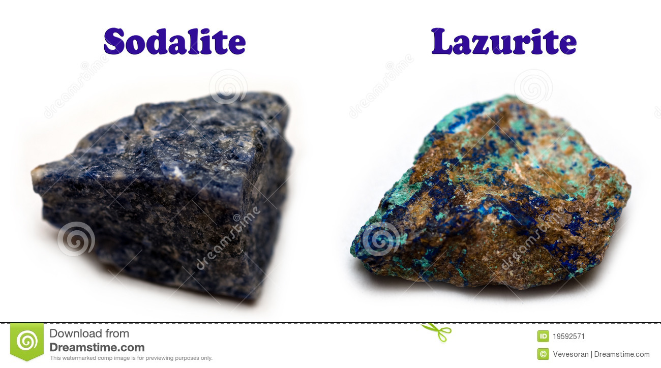 Sodalite Minerals Stock Image Image Of Lights Blue