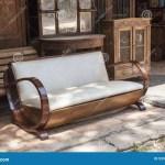 Sofa Del Art Deco Foto De Archivo Imagen De Lujo Antiguedad 55981490