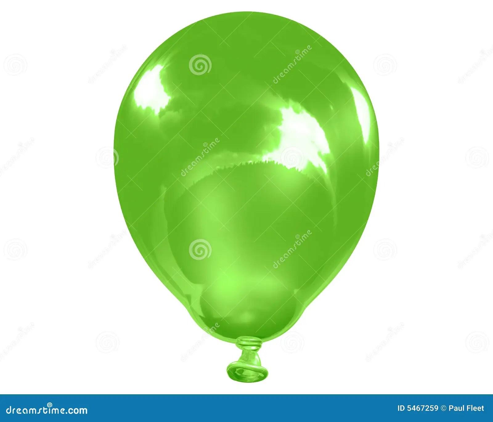 Solo Globo Verde Reflexivo Stock De Ilustracion