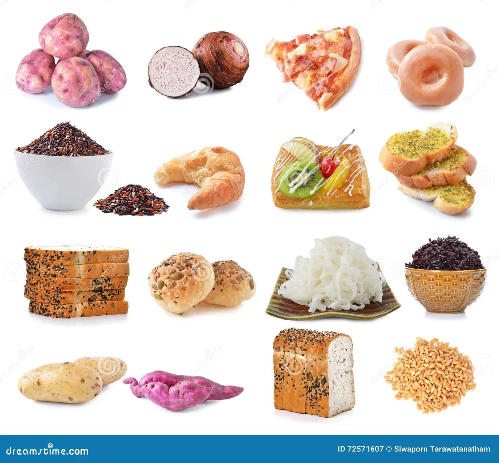Sorgenti Dell Alimento Dei Carboidrati Complessi Isolate