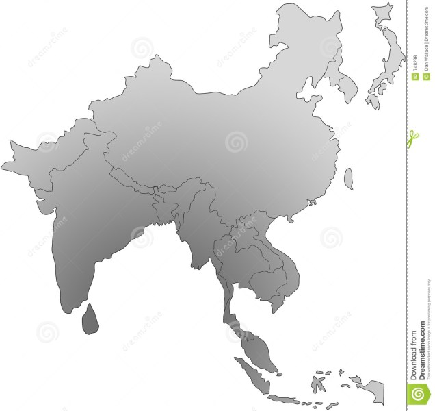 South East Asia Map Illustration 748238   Megapixl