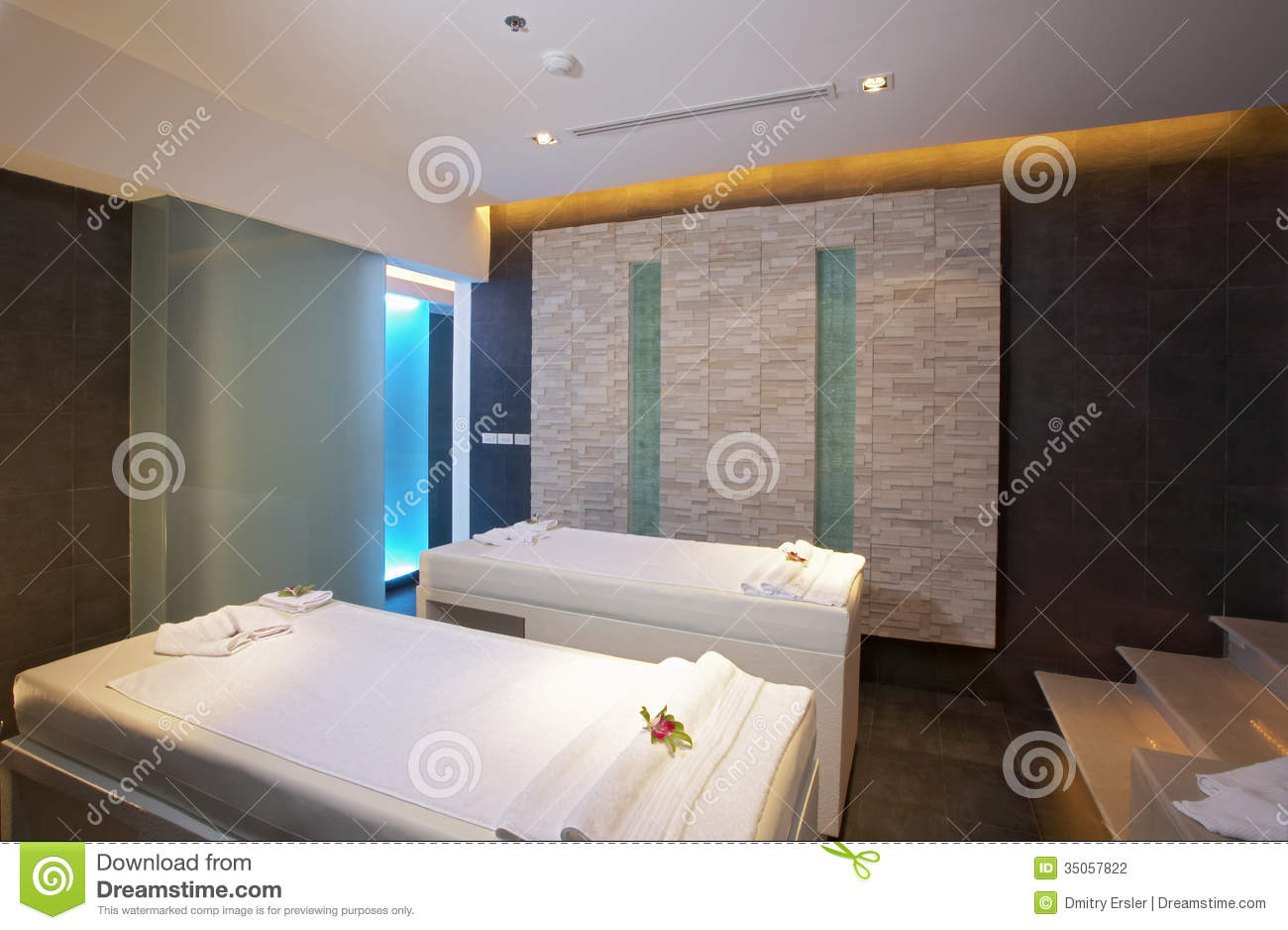 Spa Room Stock Photography Image 35057822