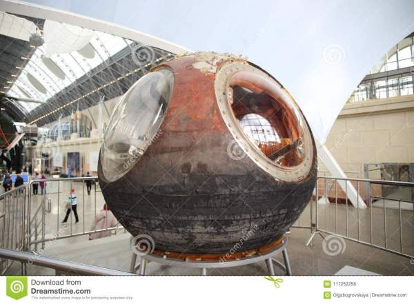 The Space Capsule Of The Type East The True Capsule Of ...