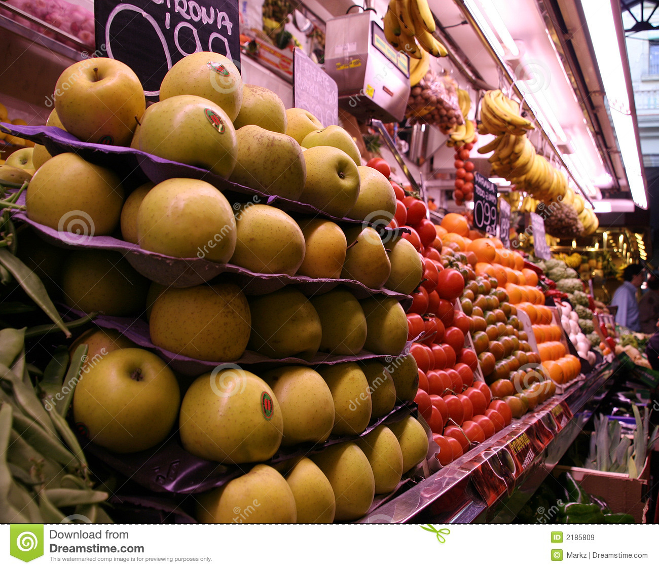 Spanish Fruit Market Stock Image Image Of Sale Orange
