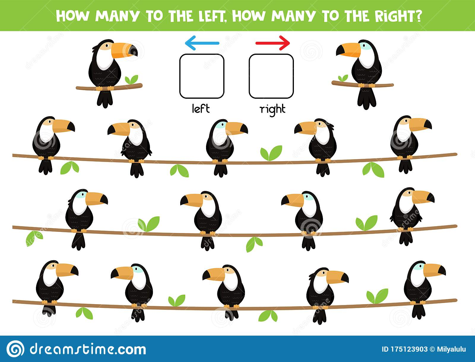 Spatial Orientation For Kids Left And Right Cute Carton