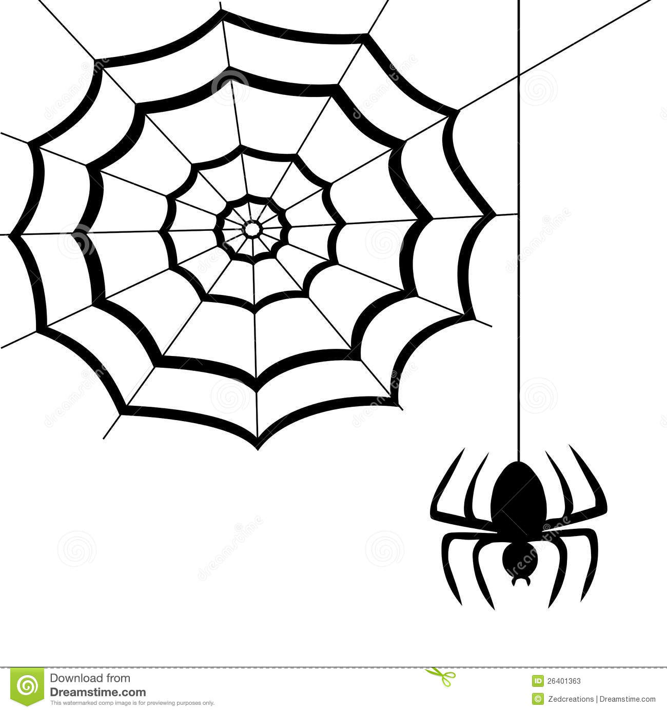 Spider Web Stock Vector Illustration Of Pattern