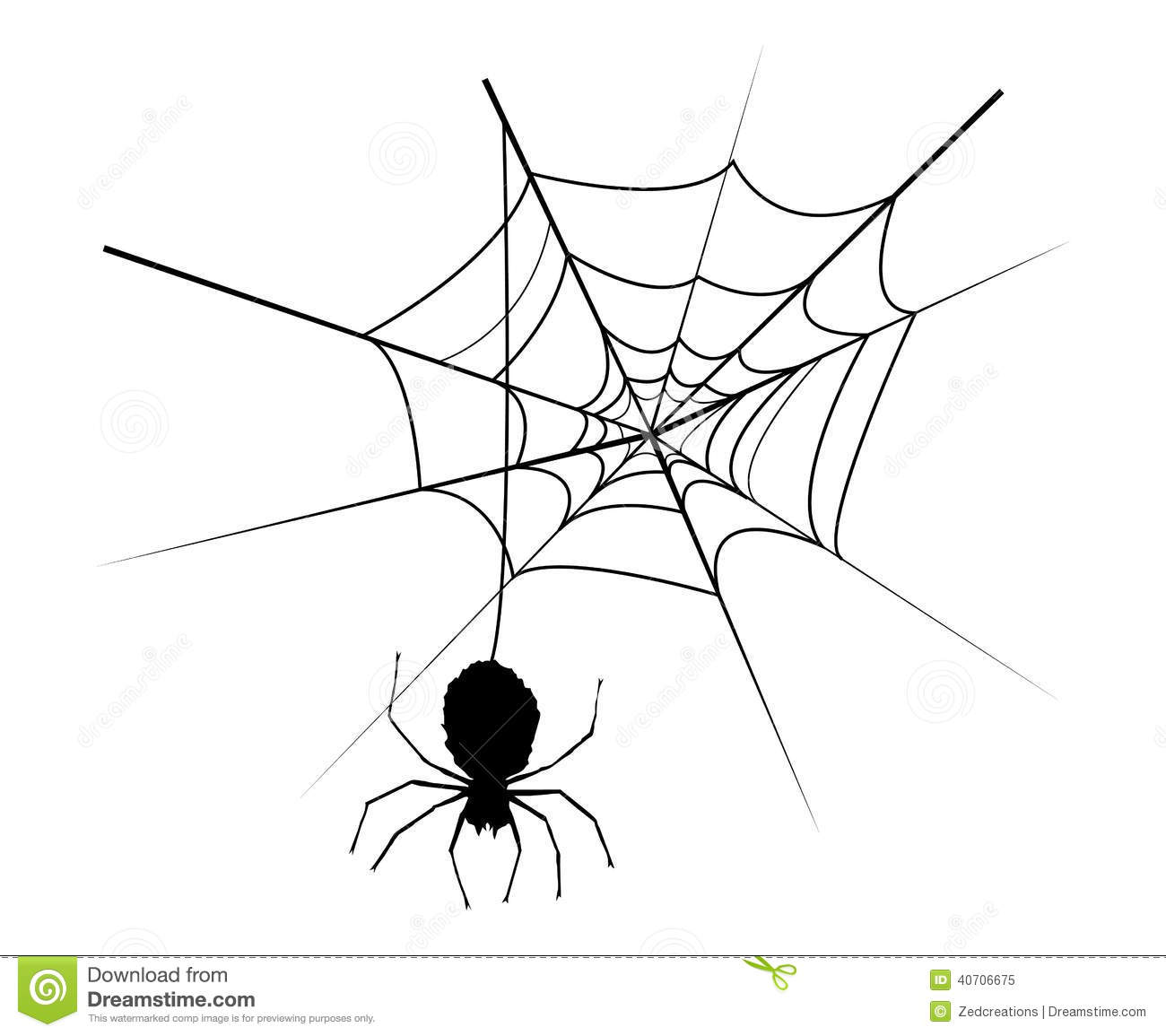 Spider Web Stock Vector Illustration Of Clip Backgrounds