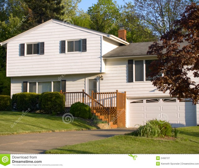 Royalty Free Stock Photo Download Split Level House