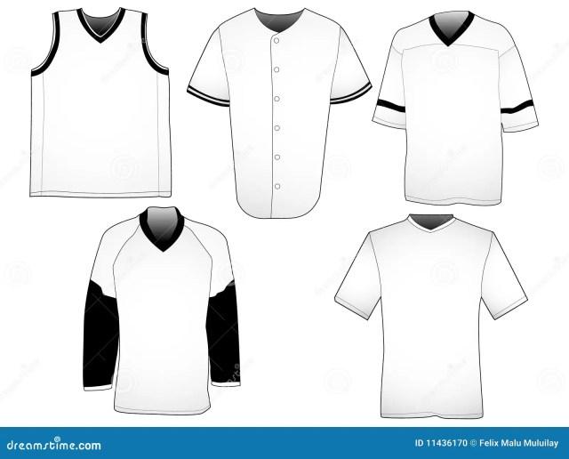 Sport jerseys templates stock vector. Illustration of apparel