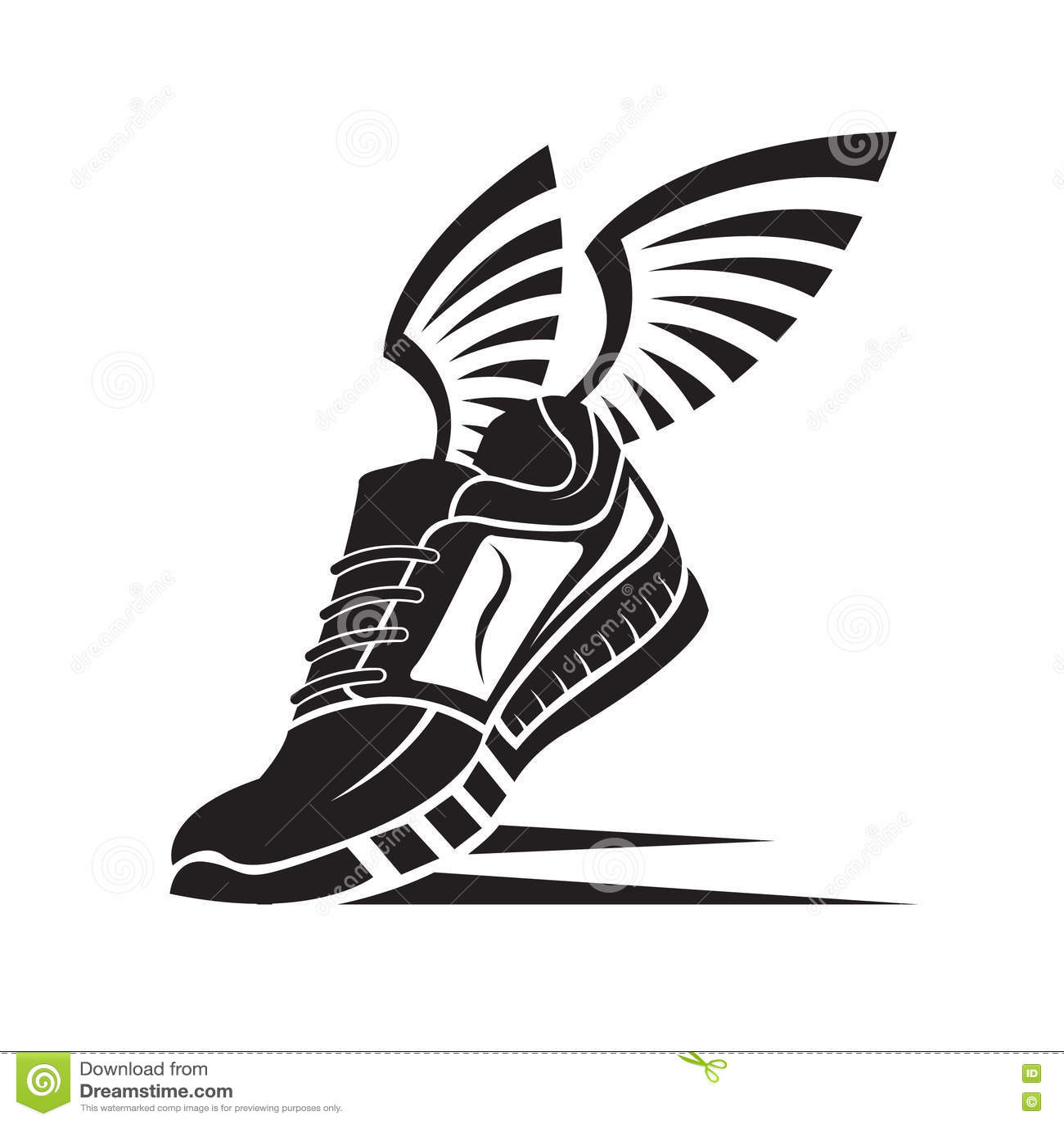 Sport Shoe Icon Stock Vector Illustration Of Illustration