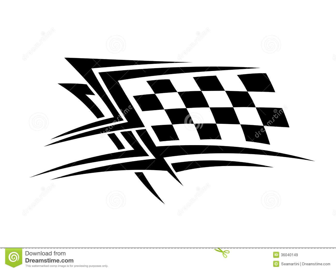 Sports Tattoo Stock Vector Image Of Biker Automobile