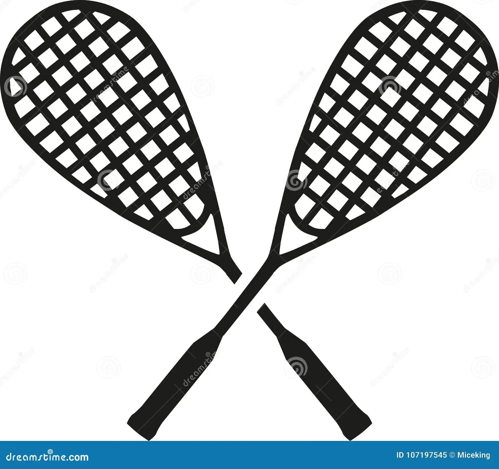 Tennis Ball Crossed Rackets Stock Illustrations 72