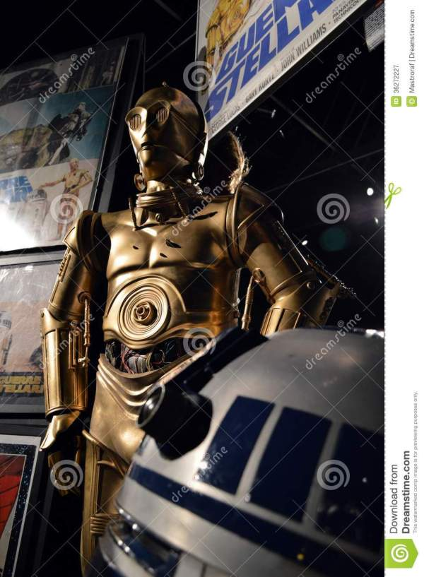 Star Wars Droids Editorial Photography - Image: 36272227
