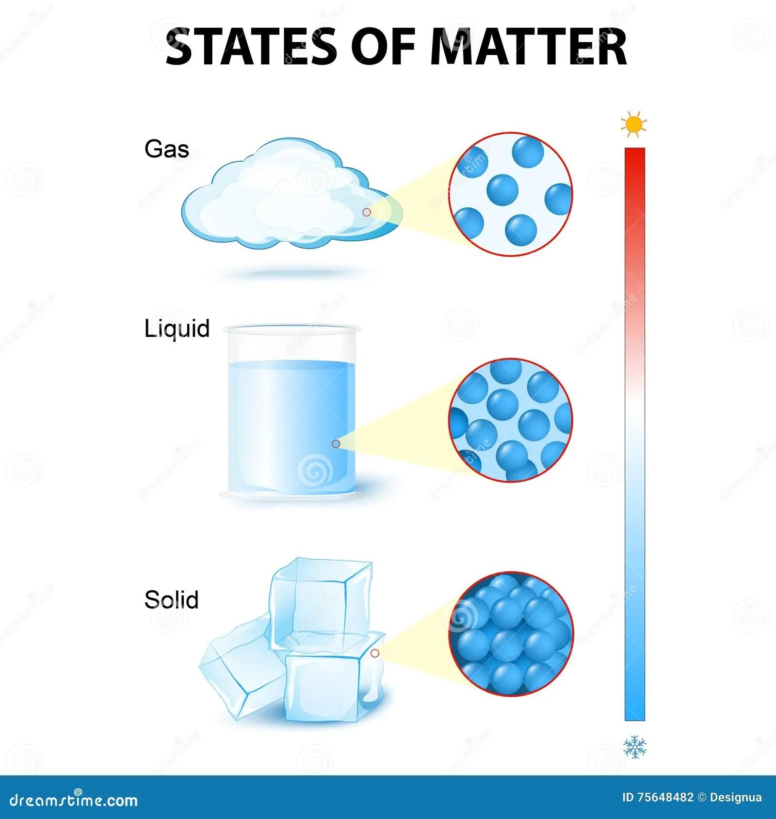 Staten Van Mater Vector Illustratie Illustratie Bestaande