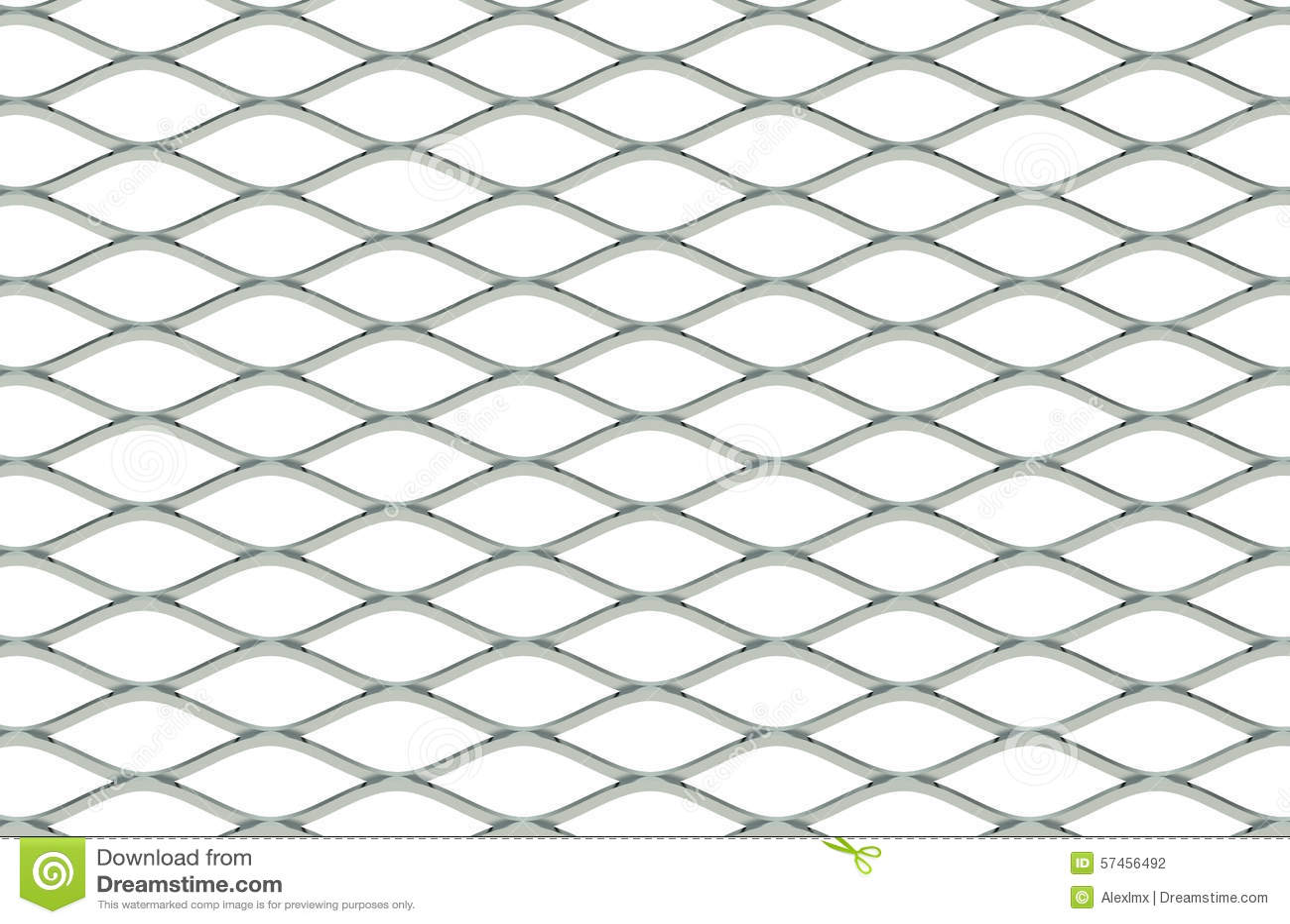 Steel Grating Stock Illustration Illustration Of Isolated
