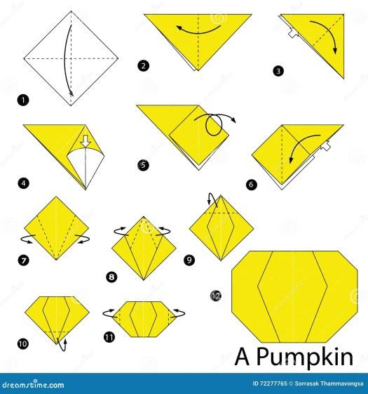 Halloween Origami Diagrams