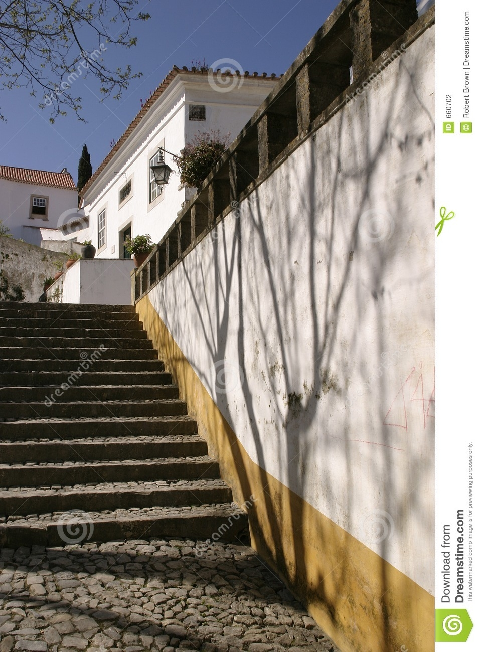 Steps Outside Portuguese House Stock Photo Image Of Home Stair   Outside Steps For House   Modern   Fancy   House Construction   Makeover   Small House