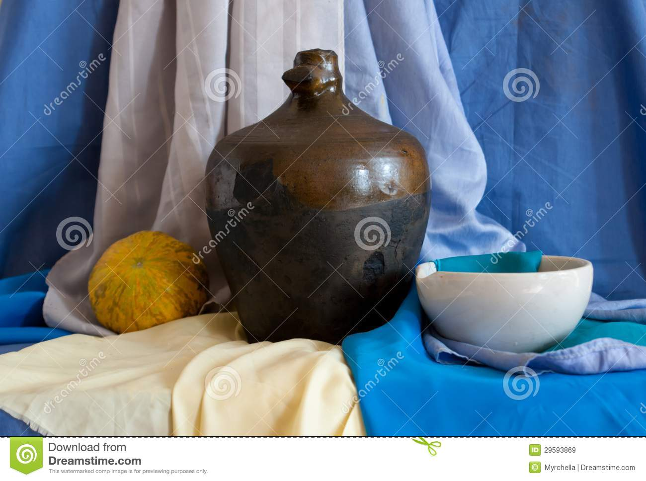 Still Life Of Vintage Household Items Royalty Free Stock Images Image 29593869