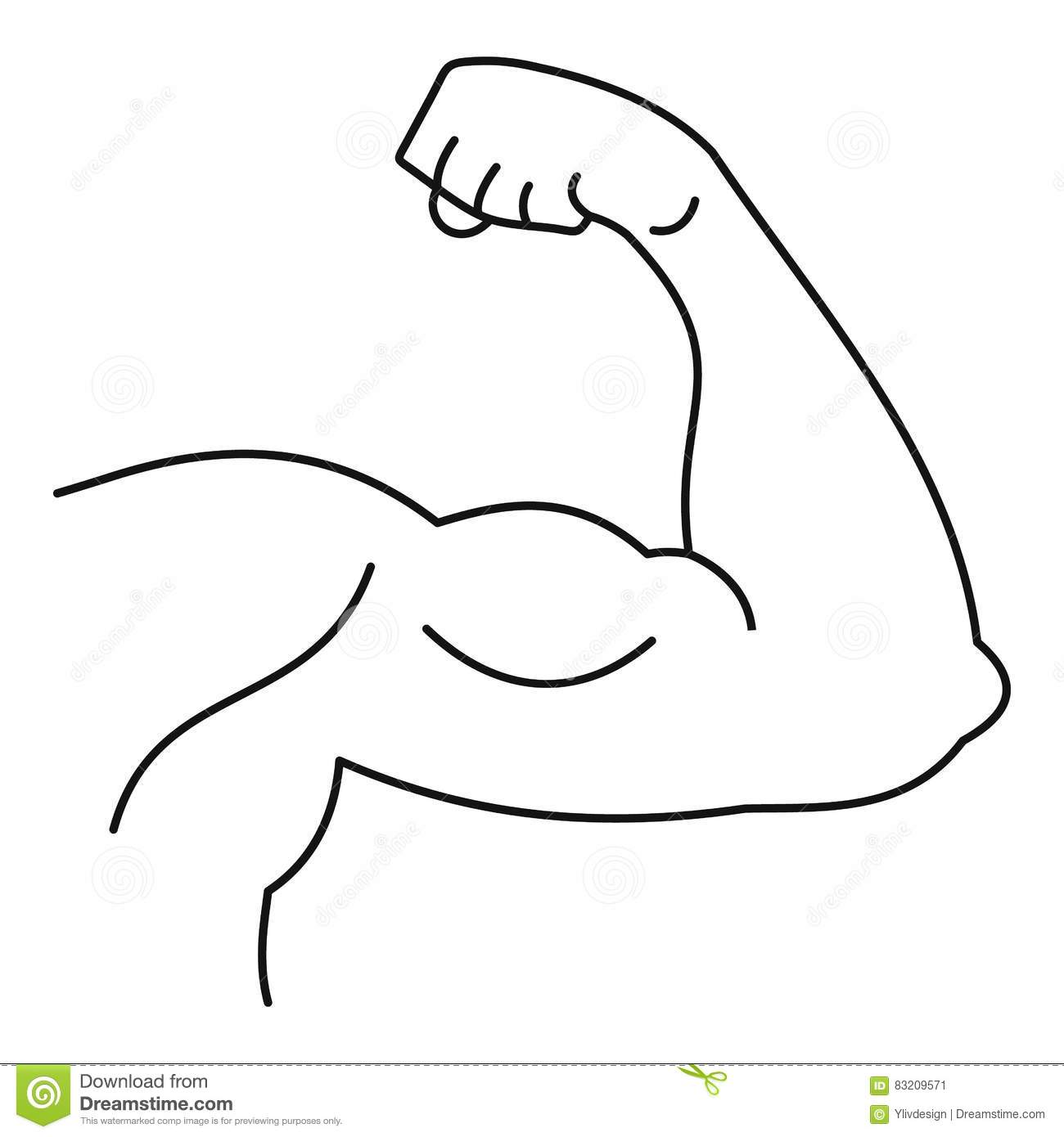 Muscular Man Coloring Pages