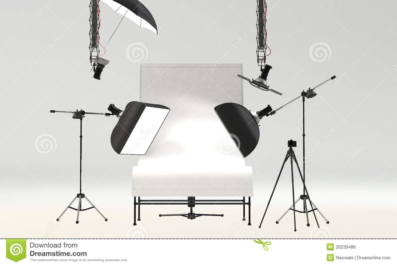 Portrait Photography Studio Setup