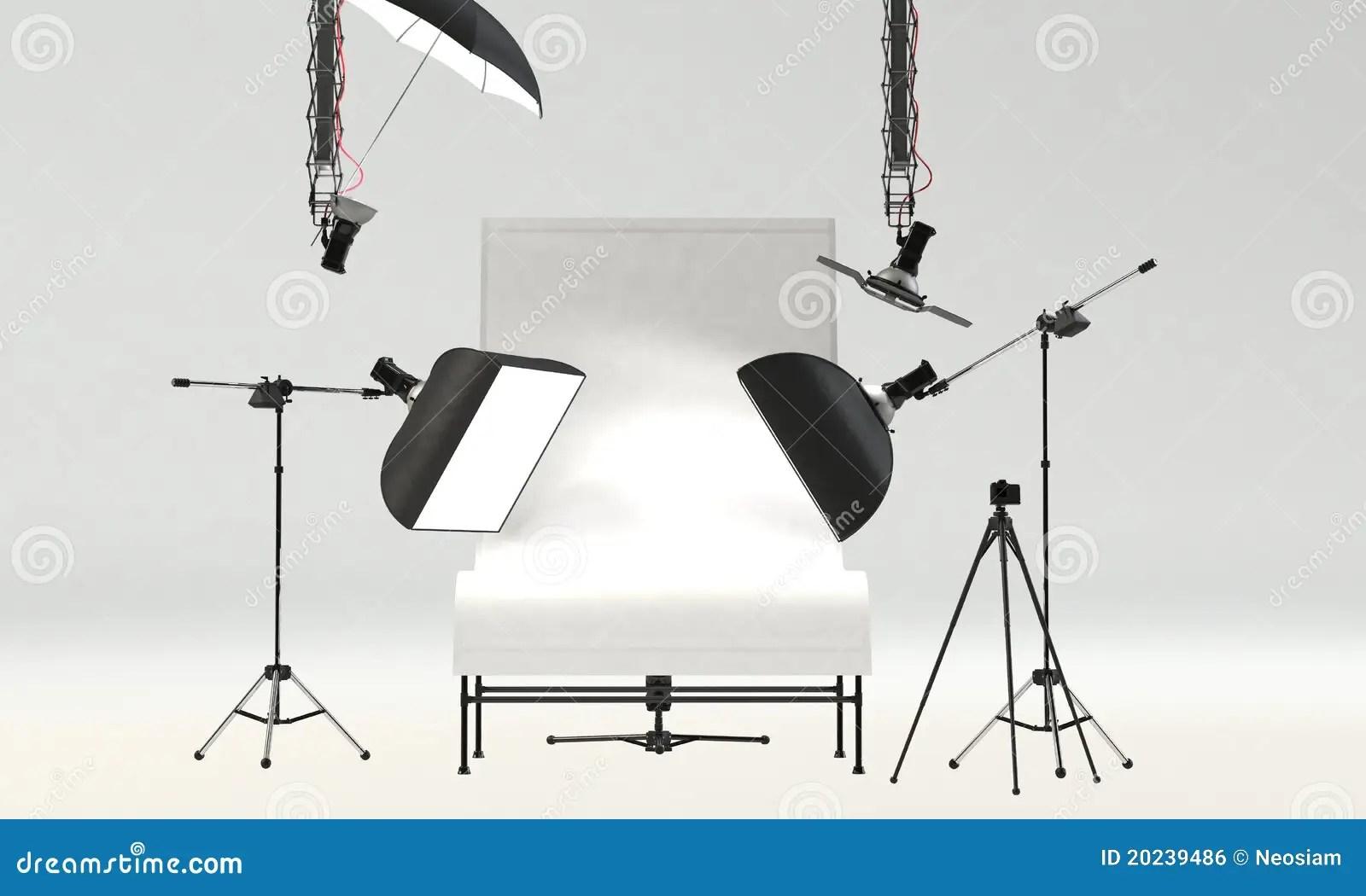 Portrait Lighting Studio Setup