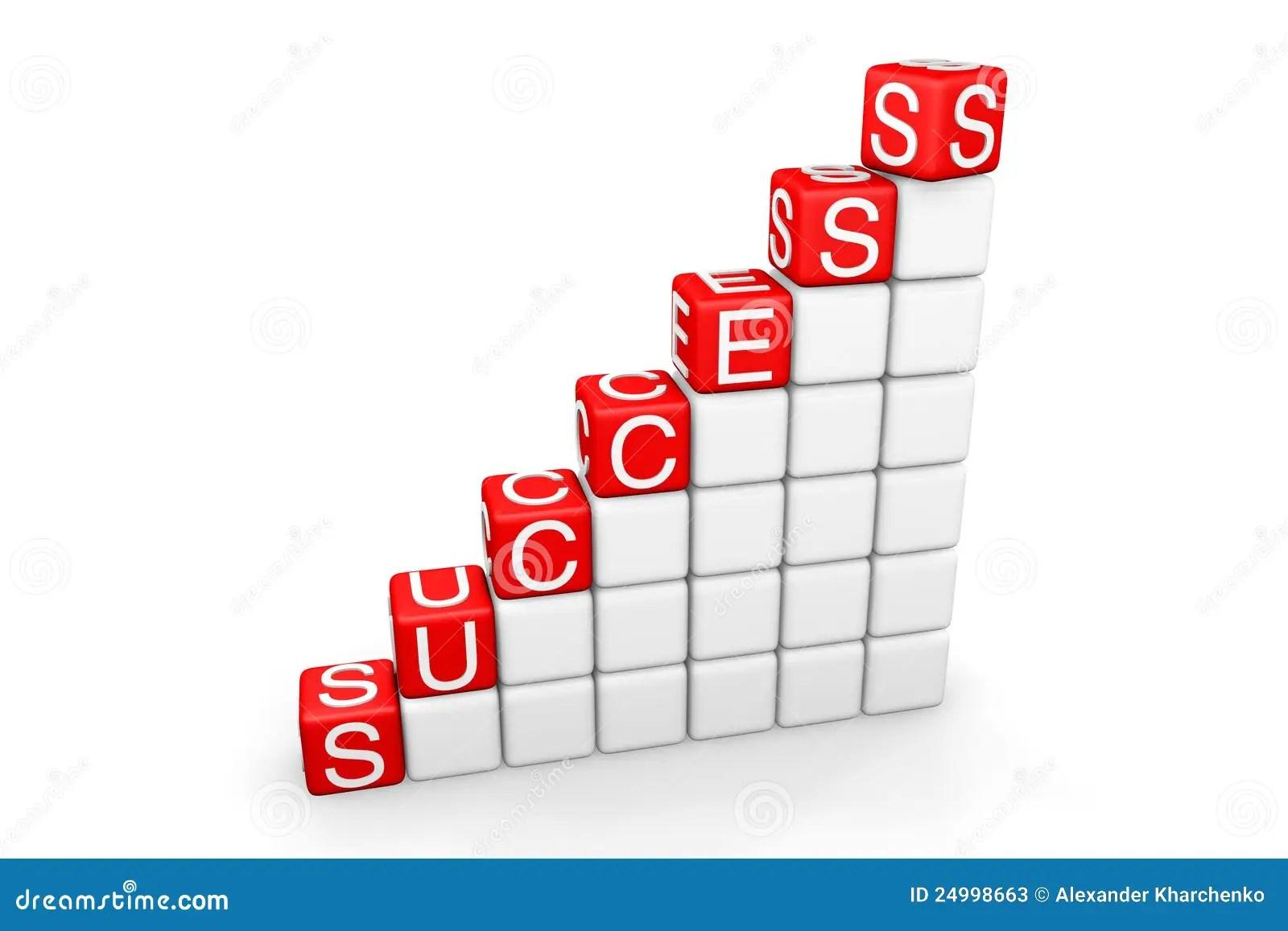 Success Ladder Stock Photos