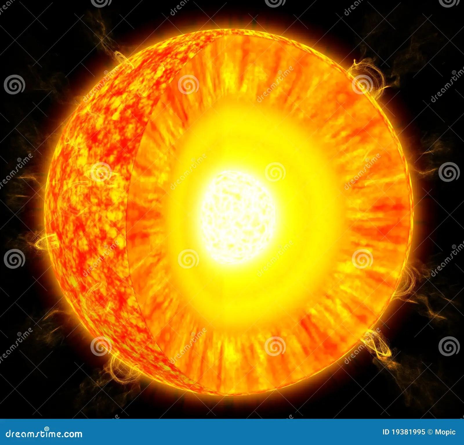Sun Structure Stock Illustration Illustration Of Dark